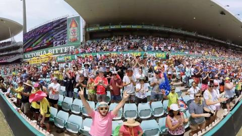 360: SCG reacts to Handscomb ton