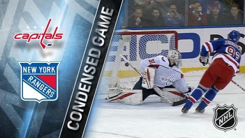 12/27/17 Condensed Game: Capitals @ Rangers