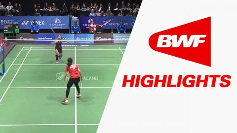 SKYCITY New Zealand Open 2017 | Badminton SF – Highlights