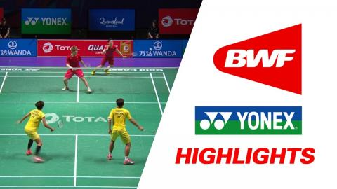 TOTAL BWF Sudirman Cup 2017 | Badminton Day 2 Grp 1A-THA vs HKG – Highlights