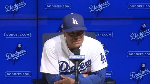 COL@LAD: Roberts on Kershaw's outing in a 4-2 win