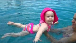 6 Month Old Baby Swimming