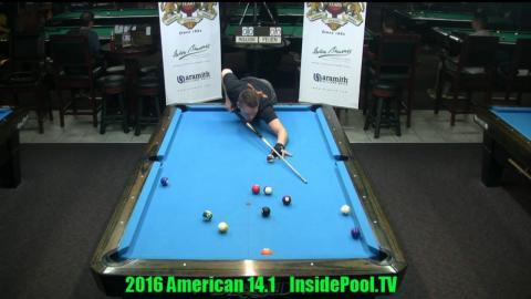 2016 American 14.1 Tournament   Niels Feijen VS. Alex Pagulayan
