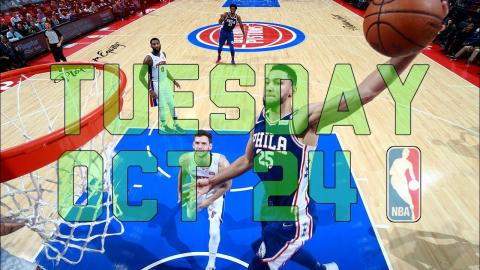 NBA Daily Show: Oct. 24 - The Starters