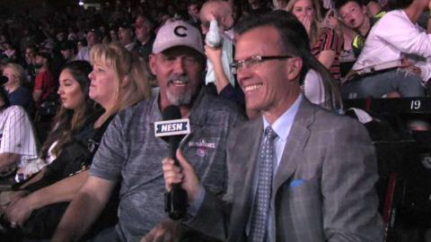 CHC@BOS: Mike Bryant discusses his hometown