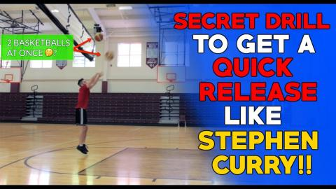 How To Shoot Like Stephen Curry [QUICK RELEASE SHOOTING]