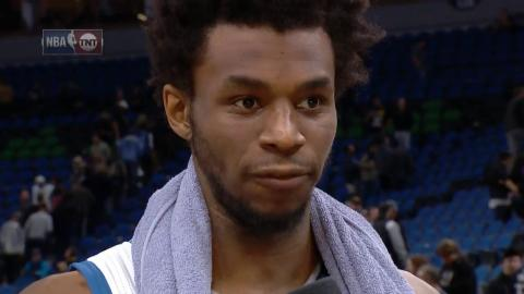 Andrew Wiggins Drops 35 on Sixers