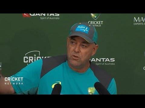 Lehmann reflects on a tough day for Australia