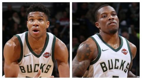 Giannis Antetokounmpo and Eric Bledsoe Lead the Bucks' Comeback | December 28, 2017