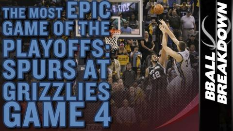 The Most EPIC Game Of The 2017 NBA Playoffs Yet: Spurs A Grizzlies Game 4