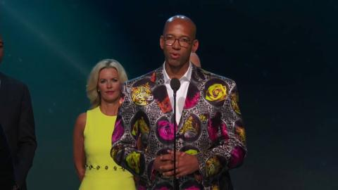 Monty Williams Presented With Inaugural Sager Strong Award | NBA Awards 2017