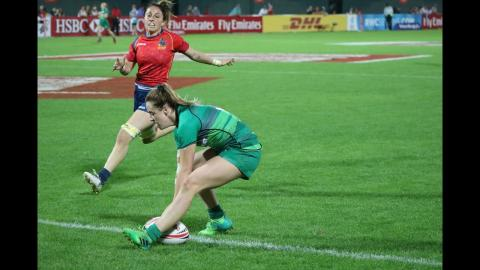 Irish Rugby TV: All the tries from the Ireland Women's 7s in Dubai