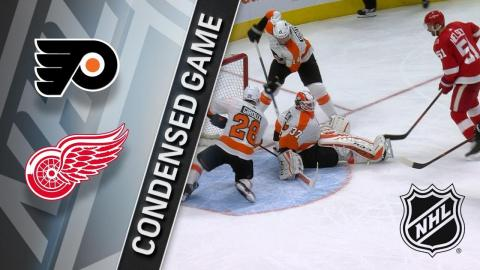 01/23/18 Condensed Game: Flyers @ Red Wings