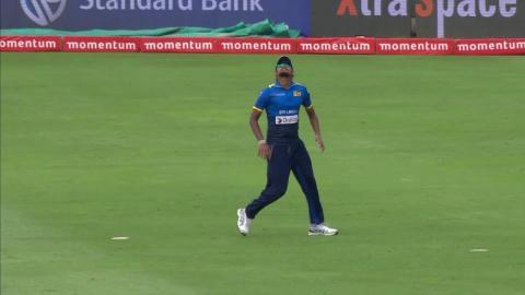 South Africa vs Sri Lanka - 5th ODI - Faf du Plessis - Wicket