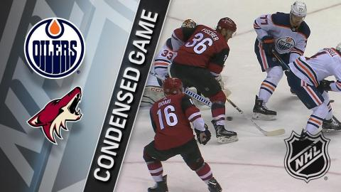 02/17/18 Condensed Game: Oilers @ Coyotes