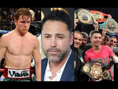 Delahoya Says Split For Gennady Golovkin vs Saul Alvarez Fight Would Be 90 -10 In Favor Of Canelo !!