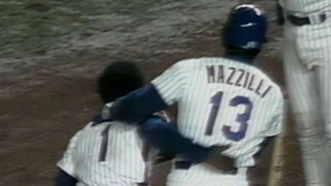 1986 WS Gm7: Hernandez gets Mets on board