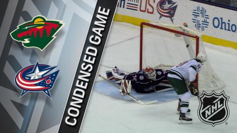 01/30/18 Condensed Game: Wild @ Blue Jackets