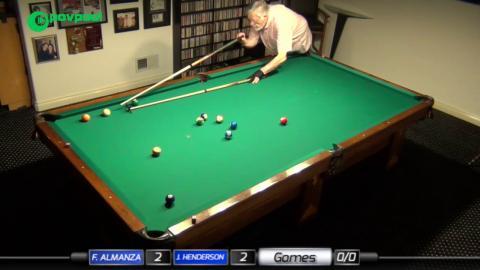 FINAL •#6b • John HENDERSON vs Frank ALMANZA • James Boch's One Pocket Challenge