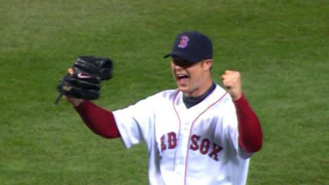 Lester strikes out Callaspo to cap his no-hitter