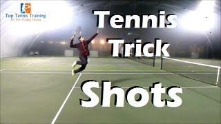 Tennis Trick Shots Compilation | Tweeners, Slam Dunks, Targets
