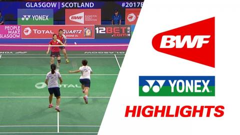 TOTAL BWF World Championships 2017 | Badminton Day 3 – Highlights
