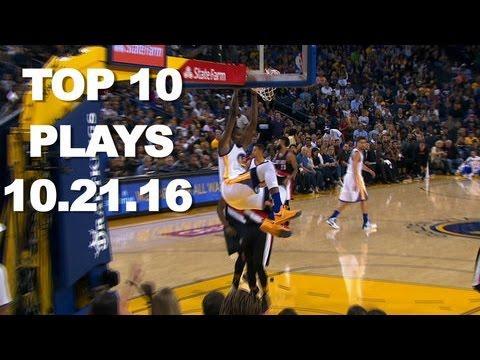 Top 10 NBA Plays: October 21st