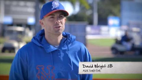 David Wright and the new A2K DW5 GM Glove