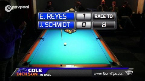 #3 • Efren REYES vs John SCHMIDT • 2016 Cole Dickson 10 Ball