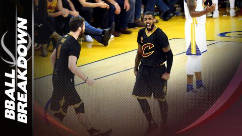 How Kyrie Irving Lit Up The Warriors In Game 5