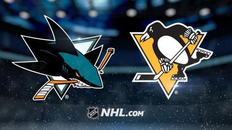 Malkin, Rust lead Penguins past Sharks, 5-2