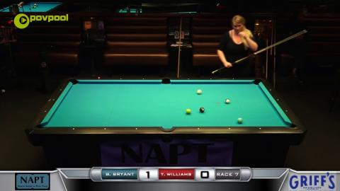 #3 - 10 BALL - Brittany BRYANT vs Tara WILLIAMS - 2017 NAPT Desert Challenge