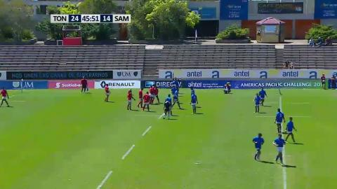 Samoa A score wonderful try at Americas Pacific Challenge