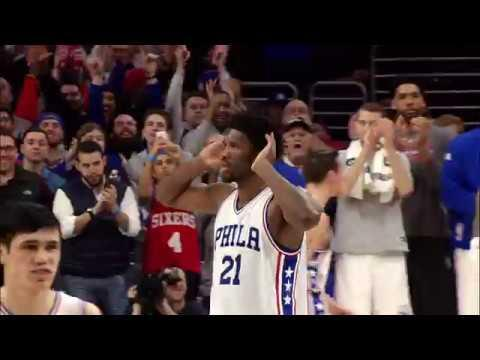 Joel Embiid Block Seals Victory for 76ers | 01.18.17