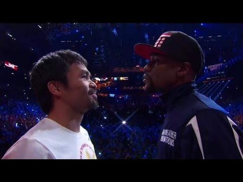Floyd Mayweather vs Manny Pacquiao Official Weigh In Results Review !! May 2 HBO Showtime PPV