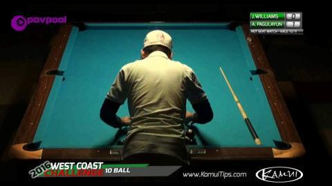 #6 • Jason WILLIAMS vs Alex PAGULAYAN / 2016 WCC 10-BALL