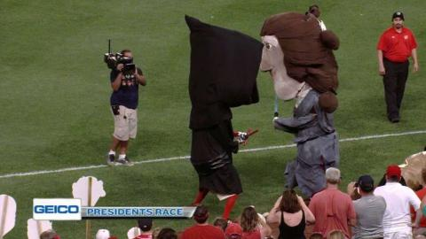 ATL@WSH: Presidents race as Star Wars characters