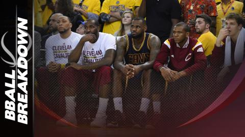 Why The Cavs Are Terrible With LeBron James On The Bench