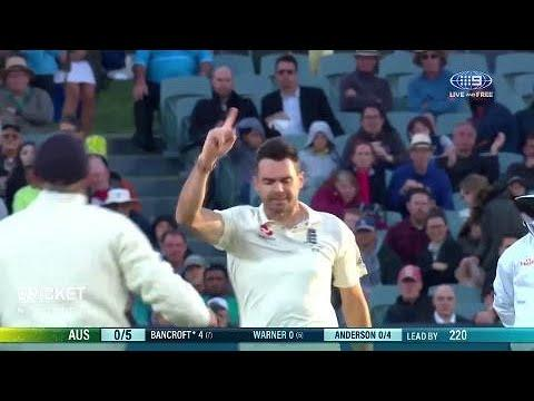 Anderson claims maiden five-wicket haul in Australia