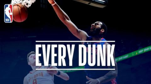 John Collins, Andre Drummond, and Every Dunk From Thursday Night | December 14, 2017