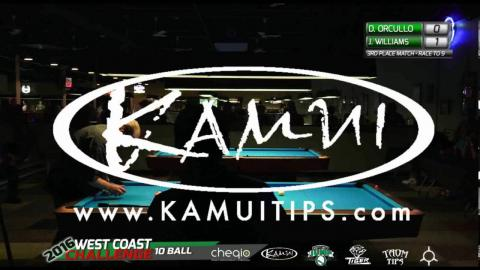 10-Ball / Jason WILLIAMS vs Dennis ORCULLO / 2016 WCC