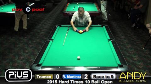 Rafael Martinez vs Truman HW / 2015 HT 10 Open