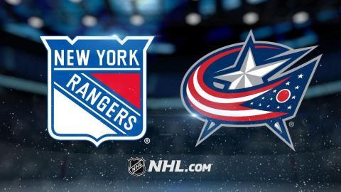 Bobrovsky, Panarin power Jackets past Rangers, 2-0