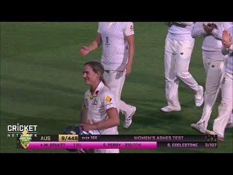 Australia v England - Women's Ashes Test match wrap