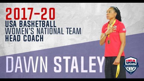 USA Basketball Press Conference | Dawn Staley To Head USA Basketball WNT Through 2020