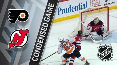 02/01/18 Condensed Game: Flyers @ Devils