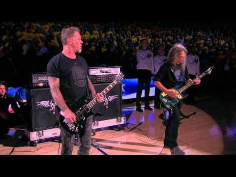 Metallica Performs National Anthem Before Game 5