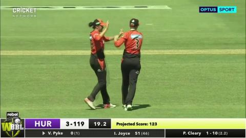 Perth Scorchers v Hobart Hurricanes, WBBL|03