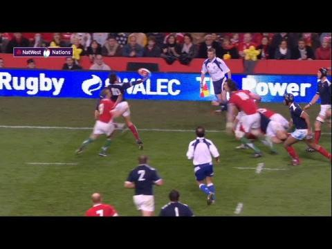 Trinh-Duc scores after perfect intercept!  | NatWest 6 Nations