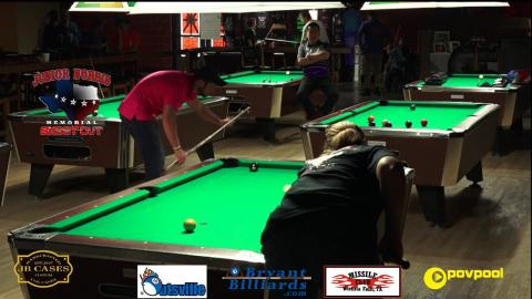 FINALS • Chris FIELDS vs Gail EATON • 2017 Junior Norris Women's 9 Ball